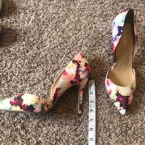 Dream Pairs Shoes - Dream Pairs floral pumps